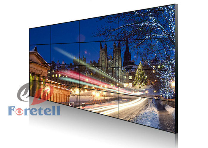 HDMI Media Player 46 Inch LCD Video Wall System Multiple Inputs And Outputs