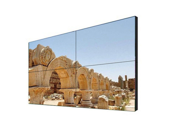 2K Samsung Video Wall Displays , Thin Bezel Cctv Multi Screen Wall Lcd